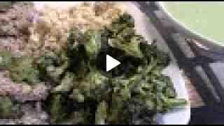 Raw Vegan Spicy Broccoli with Recipe