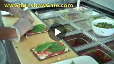 Raw Food Recipes: Raw Pizza and more