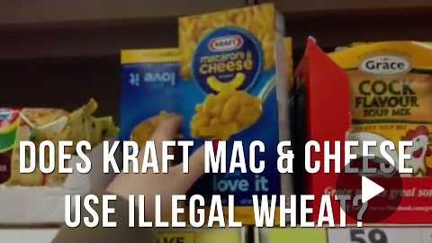 Is Kraft Mac & Cheese Made With Illegal GMO Wheat? (VIEW WARNING LABEL)