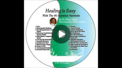 Healing Is Easy Dr Peter Glidden N D