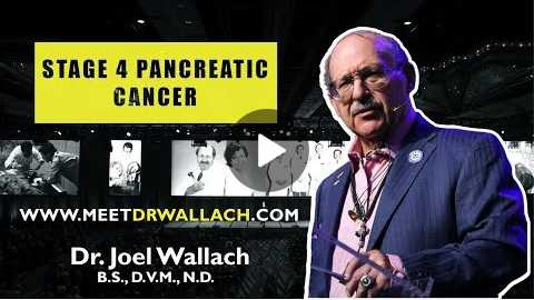 STAGE 4 PANCREATIC CANCER - DR. JOEL WALLACH