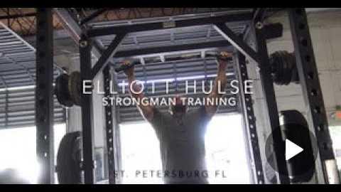Strongman Training   Kegs, Axel Press, Log Press