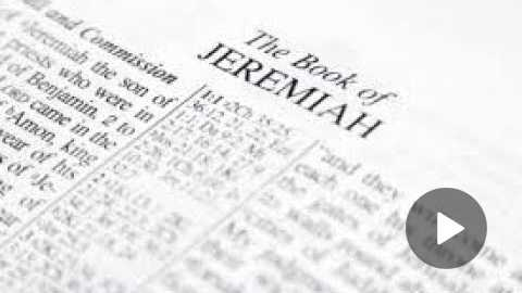 Jeremiah 30 Daily Bible Reading by Paul Nison