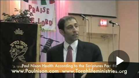 Health According to The Scriptures Part 6 of 10