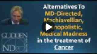 Wholistic Cancer Treatments with Dr. Glidden, ND