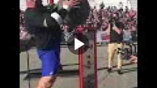 Brian Shaw Atlasstones - Arnold Strongman Classic Qualifier - Canada