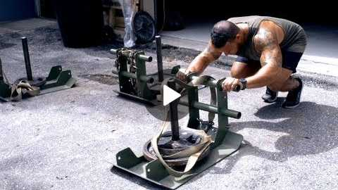 Brutal Prowler Push Workout w/ NO PUKING OR PASSING OUT