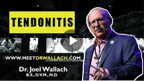 TENDONITIS - DR. JOEL WALLACH