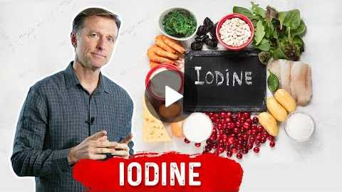 Iodine, the Ultimate Healing Trace Minerals for Cysts, Thyroid, PCOD and more