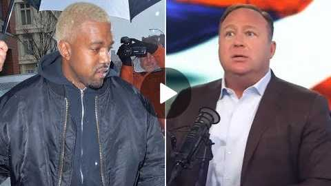 Alex Jones: Me & Kanye West Have The Same Mission