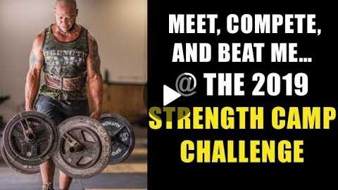 Training & Inspiration For The STRENGTH CAMP CHALLENGE