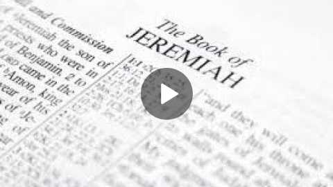 Jeremiah 28 Daily Bible Reading with Paul Nison