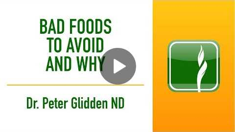 Dr Glidden | Bad Foods To Avoid And Why