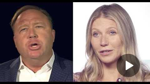 Infowars' Alex Jones And Gwyneth Paltrow Are Selling The SAME BOGUS HEALTH PRODUCTS 'Male Vitality'