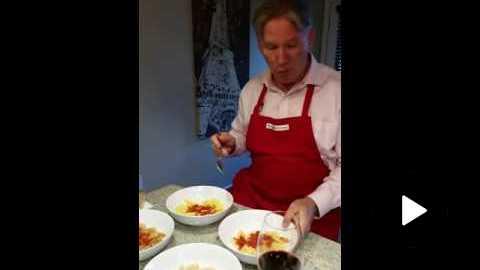 Dr. Peter Glidden Taste Testing Gluten Free Pasta