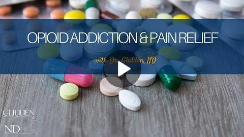 Opioid Addiction & Wholistic Pain Relief Webinar with Dr. Peter Glidden, ND