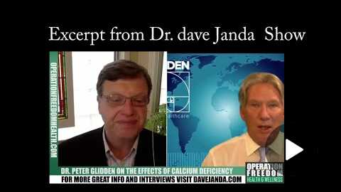 Dr Janda and Dr Glidden on Calcium deficiency and what Youngevity products to take