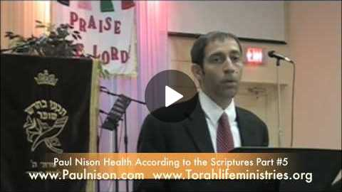 Health According to The Scriptures Part 5 of 10