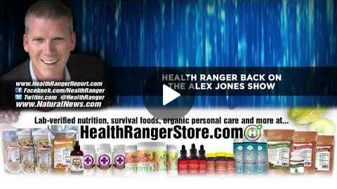 Health Ranger back on the ALEX JONES Show