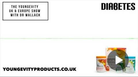 The Youngevity UK & Europe Show with Dr. Wallach - Diabetes