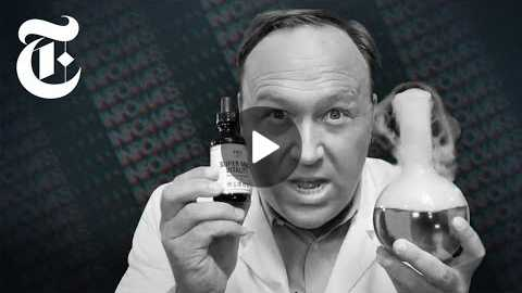 How Alex Jones Makes Money | NYT News