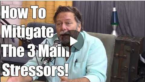 Dr. John Bergman - The 3 Main Stressors On Your Body & How To Reverse Them!