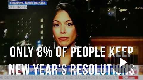 Only 8% of People Keep New Year's Resolutions - Here's What To Do Instead (CNN Clip)