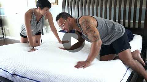 How I Like To Sleep With My Wife [SleepOvation Mattress Review]