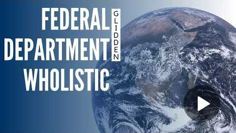 We need a Federal Department of Wholistic Medicine