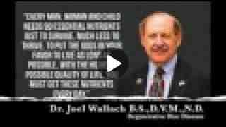 Degenerative Disc - Dr Joel Wallach