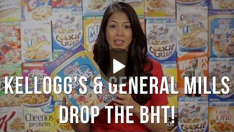 Kelloggs & General Mills: Drop the BHT From Your Cereal - Like You Do In Other Countries!