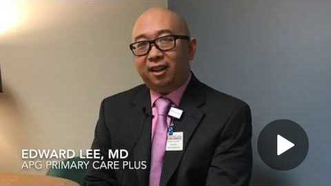 Meet Dr. Edward Lee, primary care provider with AtlantiCare Physician Group/Primary Care Plus