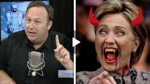 Alex Jones: Hillary Clinton Is An ACTUAL Demon (VIDEO)