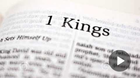 1 Kings 2 Daily Bible Reading with Paul Nison