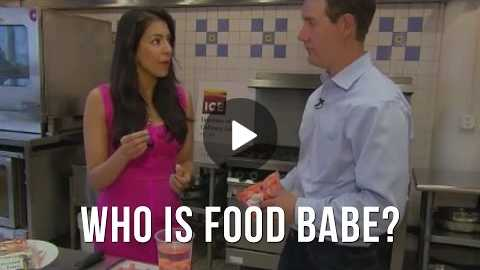 Who is Food Babe?