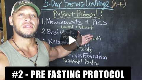 How To Prepare For A Prolonged Fast [5 Day Fasting Challenge #2]