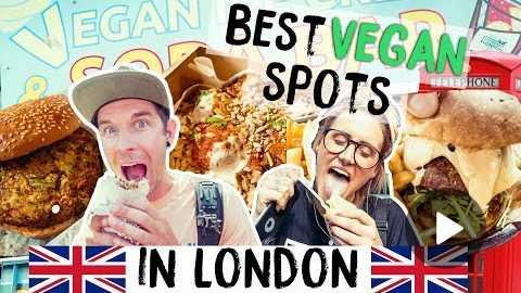 THE BEST VEGAN FOOD SPOTS IN LONDON w/ BACKPACKING BANANAS